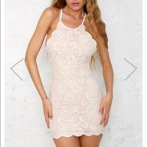NWT🌹HelloMolly ivory lace dress🌸🌸